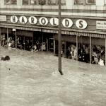 Flooding in Elmira, NY. Hurricane Agnes, 1972