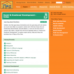 PLACE: Topics: Social & Emotional Development Index
