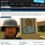 WEB STORIES: Iraq: News in Transition, Rick Loomis