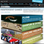 WEB STORIES: Independent Games homepage