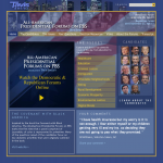 Website: 2008 PRESIDENTIAL FORUMS on PBS moderated by Tavis Smiley
